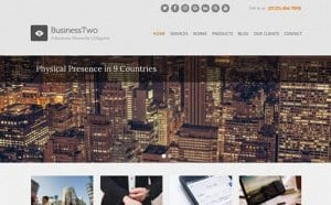 CSS Igniter BusinessTwo WordPress Theme