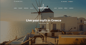 CSS Igniter Santorini Resort WordPress Theme
