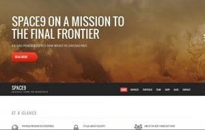 CSS Igniter Space9 WordPress Theme