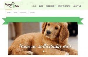 CyberChimps HappyTails WordPress Theme