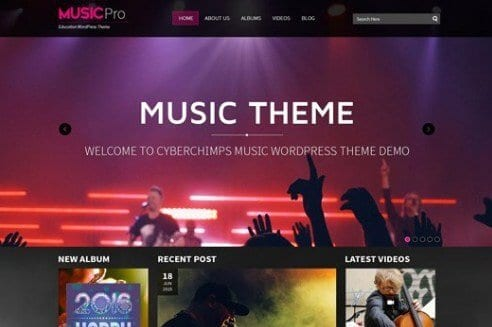 CyberChimps Strings WordPress Theme