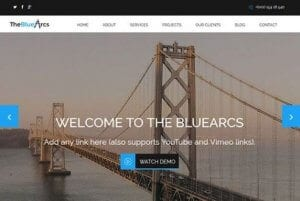 CyberChimps The BlueArcs WordPress Theme
