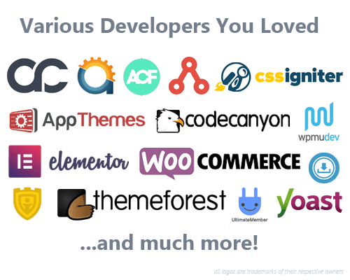 Various Developers Loved