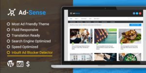 MyThemeShop Ad Sense WordPress Theme