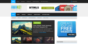 MyThemeShop Awake WordPress Theme