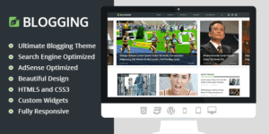 MyThemeShop Blogging WordPress Theme