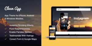 MyThemeShop CleanApp WordPress Theme