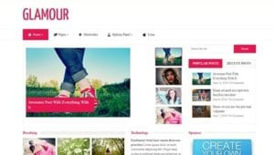 MyThemeShop Glamour WordPress Theme