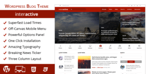 MyThemeShop Interactive WordPress Theme