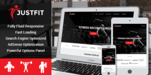 MyThemeShop JustFit WordPress Theme