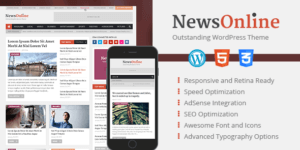 MyThemeShop NewsOnline WordPress Theme