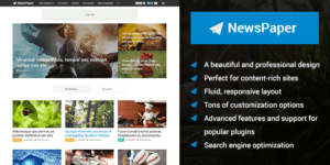 MyThemeShop NewsPaper WordPress Theme