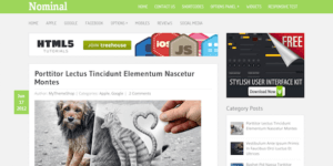 MyThemeShop Nominal WordPress Theme