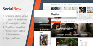 MyThemeShop SocialNow WordPress Theme