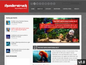 MyThemeShop ThunderStruck WordPress Theme