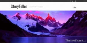 Graph Paper Press StoryTeller WordPress Theme